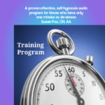 Sixty second stress relief training program